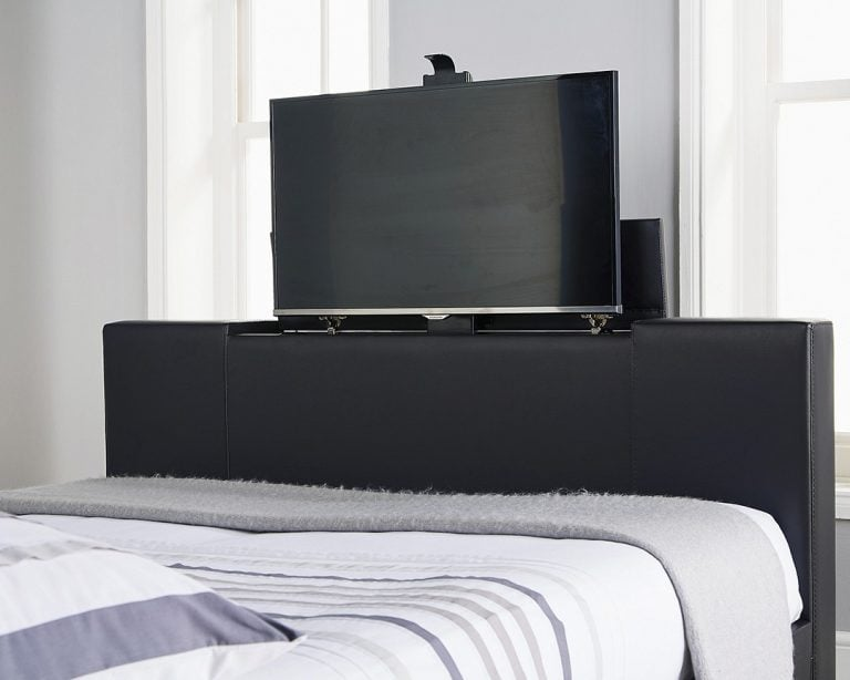 Beckham Black TV Bed