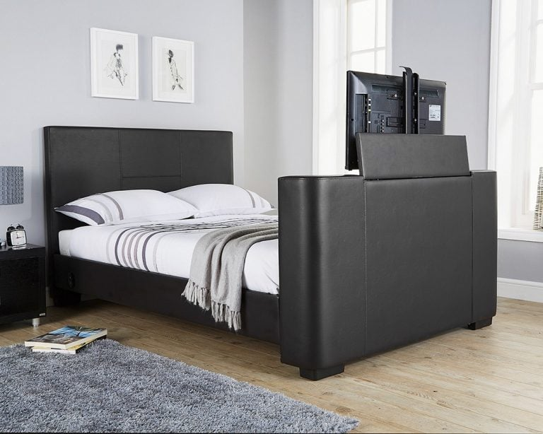 Beckham Black TV Bed Frame