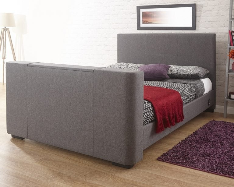 Beckham Grey TV Bed