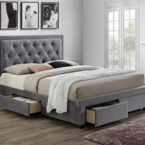 Birlea Woodbury Grey Bed Frame
