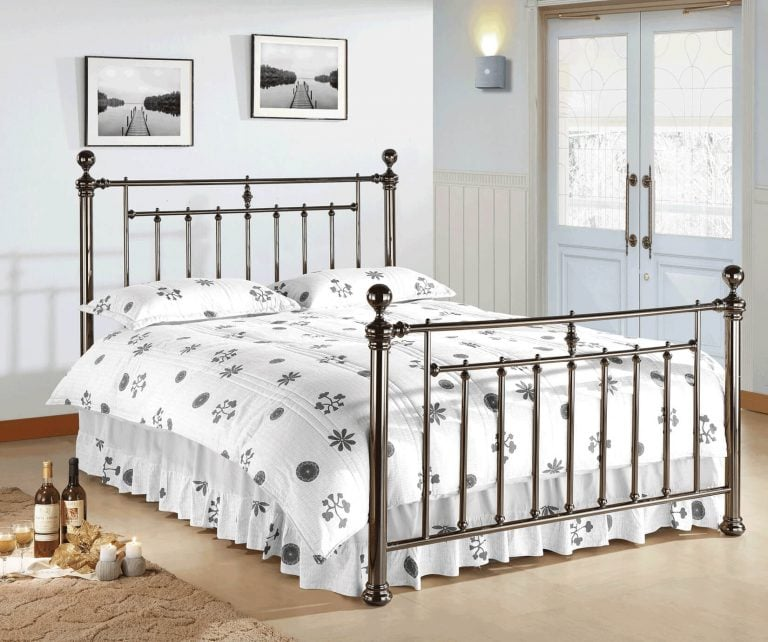 Italy Black Bed Frame