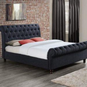 Birlea-Castello-Charcoal-Fabric-Bed-Frame-1-e1498663757441