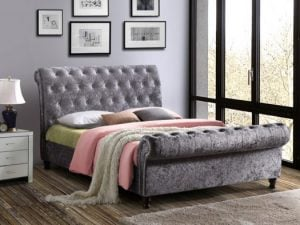 Birlea-Castello-Steel-Crushed-Velvet-Bed-Frame-e1498650995101