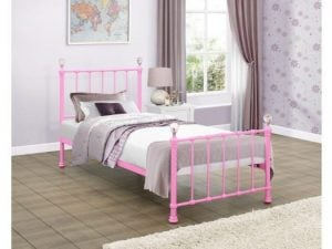 Birlea-Jessica-Pink-Single-Metal-Bed-Frame-e1498657721349
