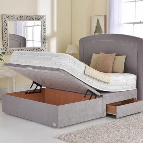 Best Rest Half Lift Ottoman Divan Base Dublin Beds