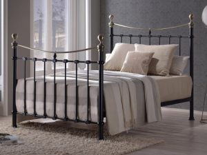 Cyprus-Black-Metal-Bed-Frame