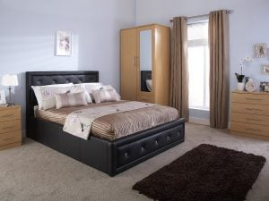 Florida-Black-Crystal-Ottoman-Bed-Frame