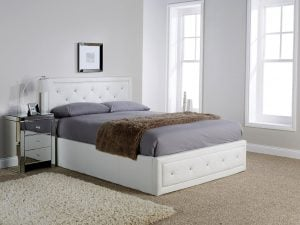 Florida-White-Crystal-Ottoman-Bed-Frame