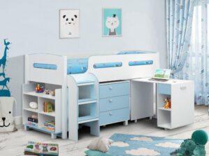 Julian Bowen Kimbo Blue Room Set