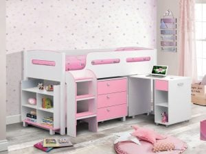 Julian Bowen Kimbo Pink Room Set