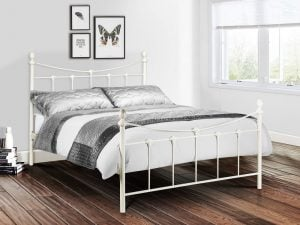 Julian Bowen Rebecca White Bed Frame Room Set