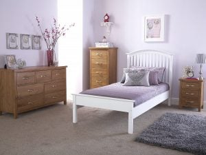 Kansas-White-Bed-LFE-Frame