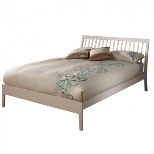 Limelight Ananke White Double Bed Frame Dublin Beds