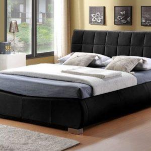 Limelight-Dorado-Black-Faux-Leather-Bed-Frame