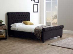 Limelight Orbit Black Bed Frame