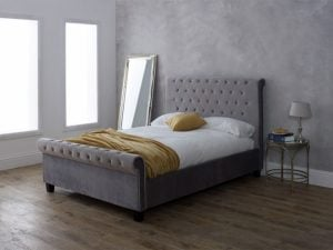 Limelight Orbit Silver Bed Frame