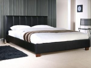 Limelight-Pulsar-Black-Faux-Leather-Bed-Frame