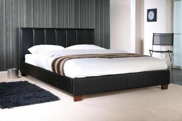Limelight Pulsar Black Double Bed Frame - Dublin Beds