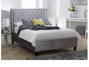 Limelight-Rhea-Ice-Crushed-Velvet-Bed-Frame