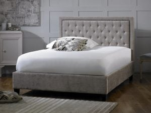 Limelight-Rhea-Mink-Fabric-Bed-Frame