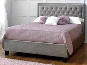 Limelight-Rhea-Plush-Silver-Velvet-Bed-Frame-1