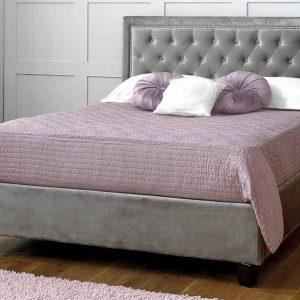 Limelight-Rhea-Plush-Silver-Velvet-Bed-Frame-1
