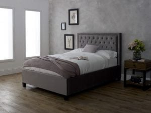Limelight Rhea Silver Bed Frame
