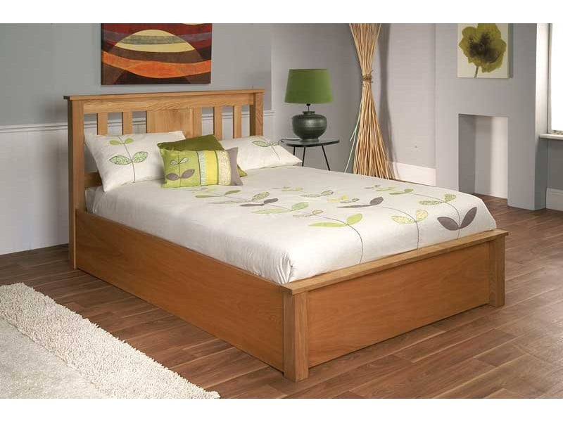 Next & Limelight Terran Wooden Storage Bed Frame