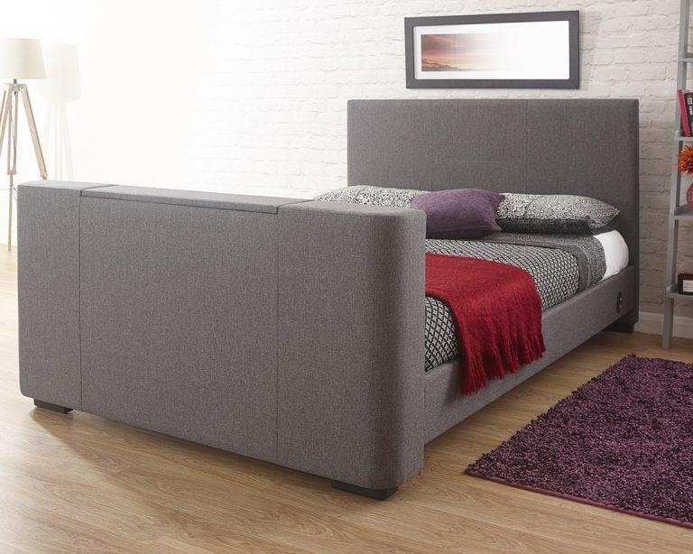 Beckham Grey TV Bed