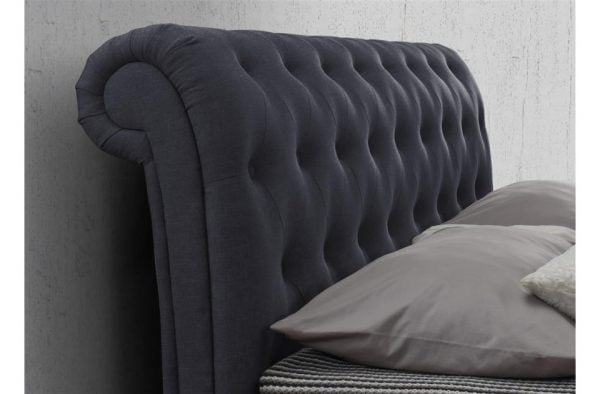 Birlea Castello Charcoal Headboard