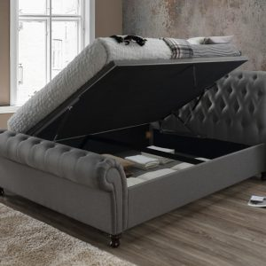 Birlea Castello Grey Ottoman Bed Frame