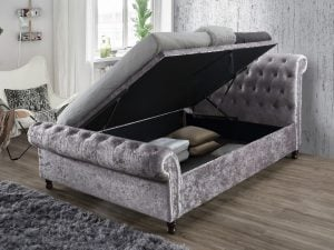 Birlea Castello Steel Ottoman Bed Frame