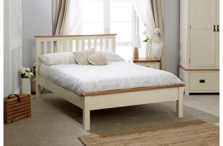 Birlea New Hampshire Cream Low End Bed Frame