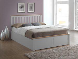Birlea Phoenix Pearl Grey Ottoman Bed Frame