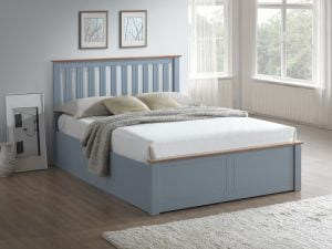 Birlea Phoenix Stone Grey Ottoman Bed Frame