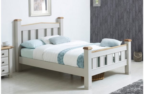 Birlea Woodstock Grey Bed Frame