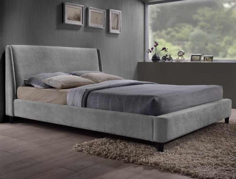 Chad Grey Bed Frame
