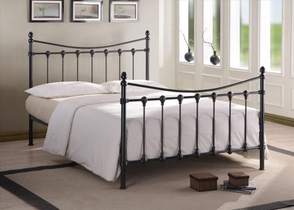 Greece Black Bed Frame
