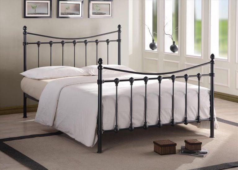 Greece Black Bed Frame