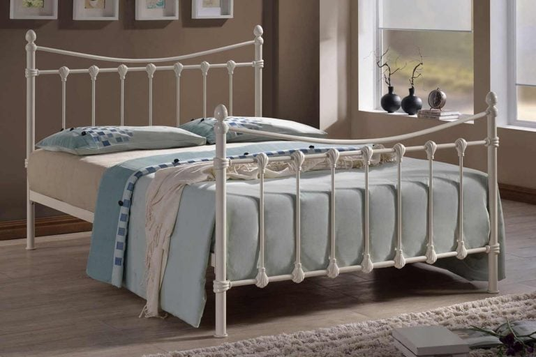 Greece Ivory Bed Frame