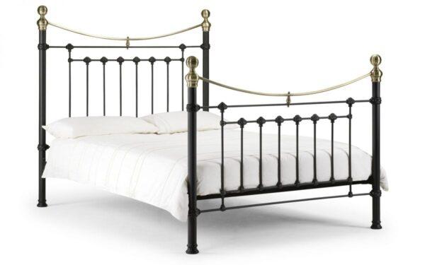 Julian Bowen Victoria Black Bed Frame