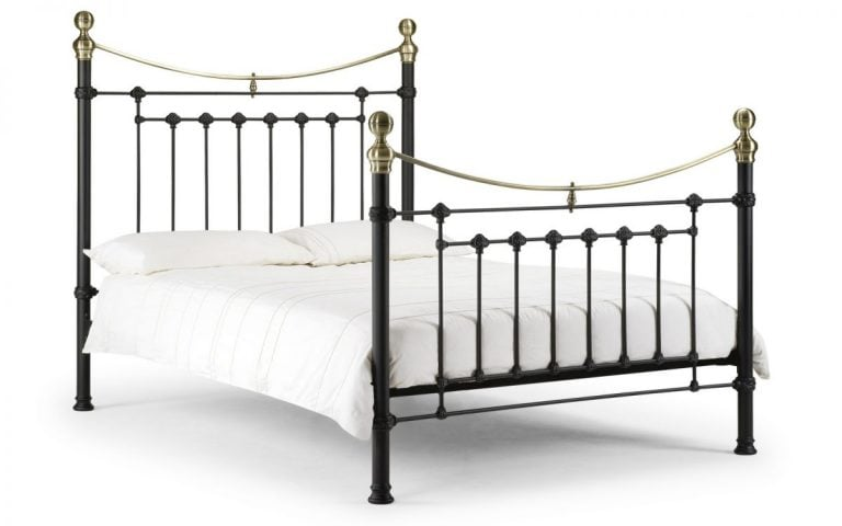 Julian Bowen Victoria Black Bed Frame