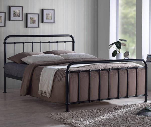 Malta Black Bed Frame