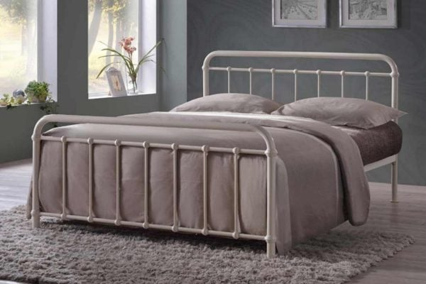 Malta Ivory Bed Frame