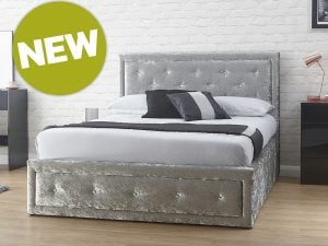 Florida Crushed Velvet Bed Frame