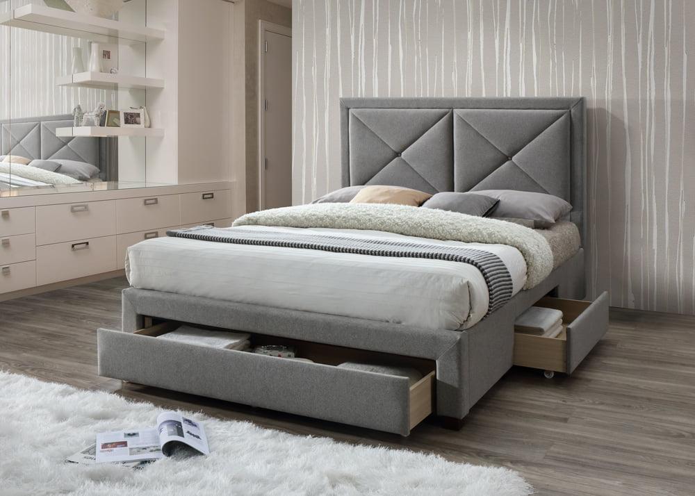 Limelight Cezanne Grey King Bed Frame - Dublin Beds