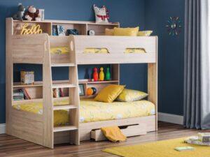 Julian Bowen Orion Oak Bunk Bed