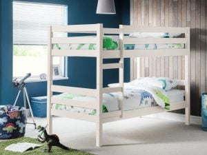Julian Bowen Camden White Bunk Bed